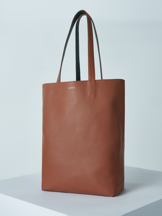 Shopper Bag - York Green / Camel Tan