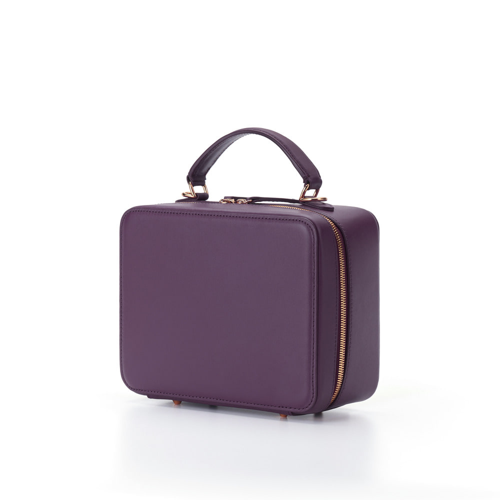 Square Bag--Violet Purple