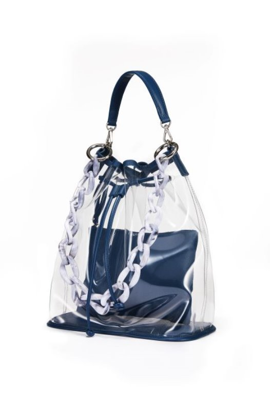 See Through Bag - Deep Blue