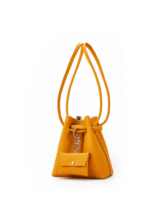 Curvy Candy bag - Saffron Yellow