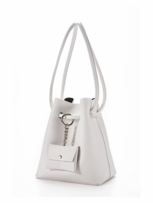 Curvy bag - Pale White(재입고)