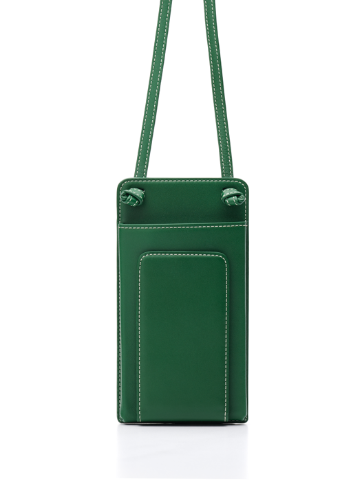 Classic Flat Purse - Forest